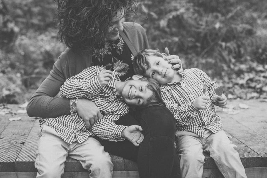 Una Familia muy Especial { Miriam y sus dos amores } Sierra de Aracena, Huelva