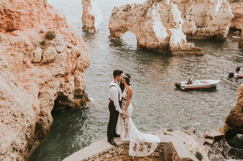 Postboda Angel & Vanessa en el Algarve, Portugal