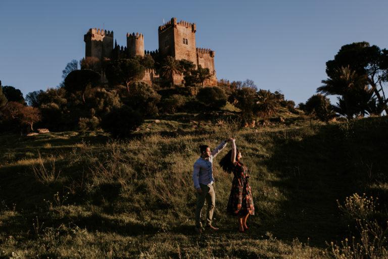 Preboda Alvaro & Alba en Castillo de Almodovar, Cordoba